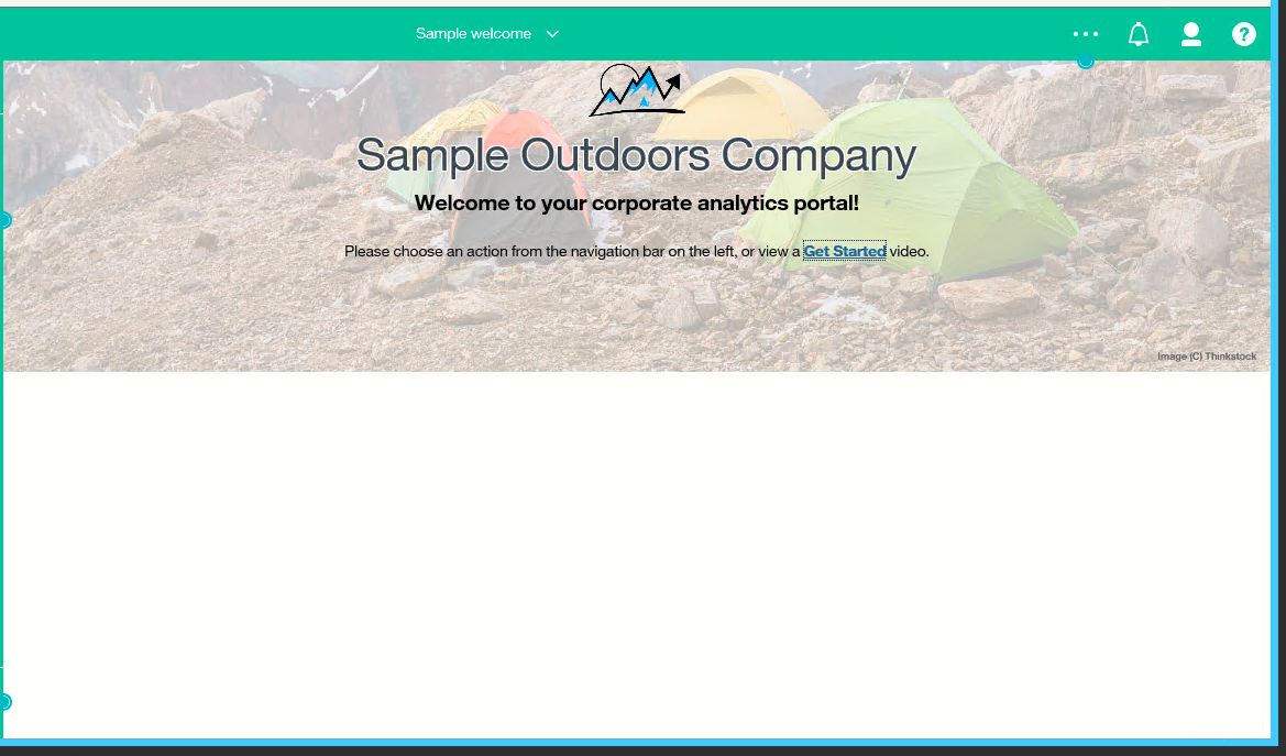 Sample welcome in 11.1.1