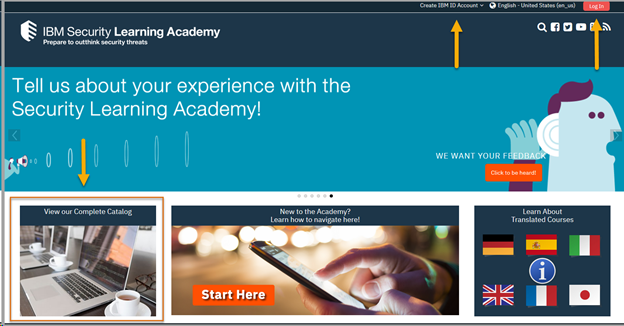 The IBM Security Learning Academy contains resources for all IBM Security products