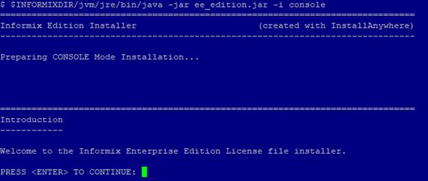 Informix - Data Management