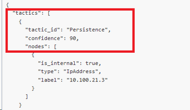 Image 2, How to retrieve MITRE ATT&CK information from a curl GET REST API call in QRadar