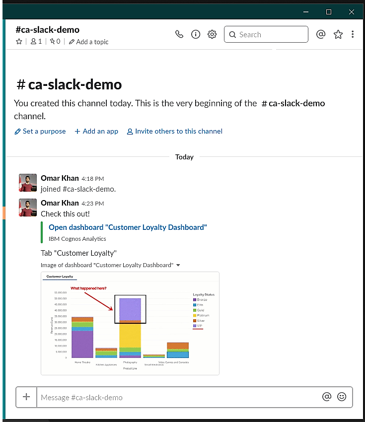 Slack preview