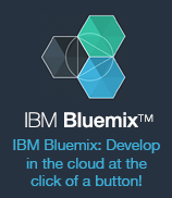 IBM Bluemix(TM). IBM Bluemix: Develop in the cloud at the click of a button!